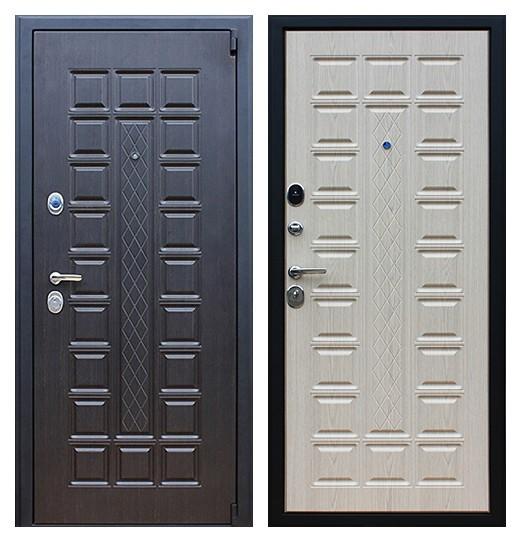 Трехконтурная металлическая дверь СП165